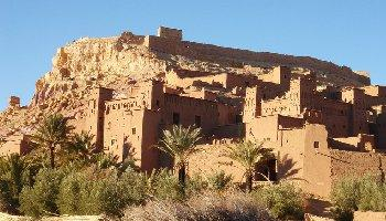 "1 day-trip to Kasbah Ait ben Haddou and Ouarzazate – to the ""door to the desert"", Kasbah and desert exploration"