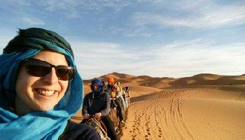 2 days-trip from Marrakech to Marrakech - desert tour with great adventure in the desert