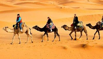 Tour from Marrakech to Mhamid for 4 days/ 3 nights – great time in the desert dunes of Erg Chegaga with camel trekking in the dunes